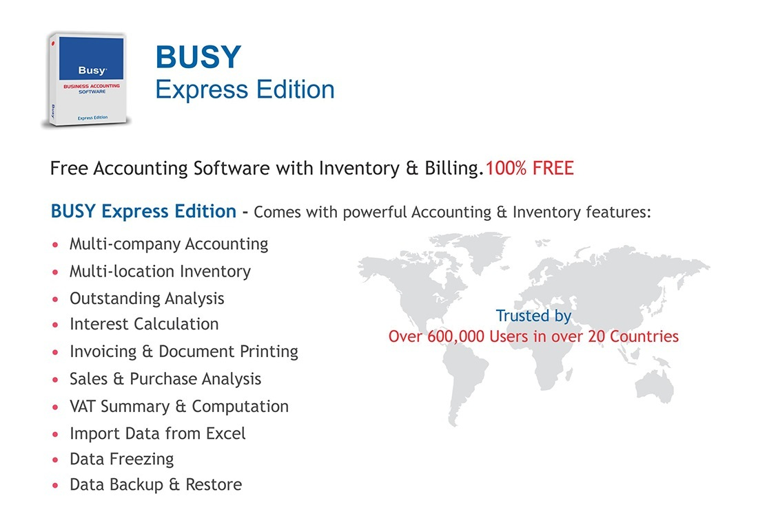 Free Accounting Software | Free Busy Software
